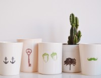 ceramic small pots