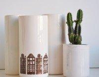 ceramic tall pots